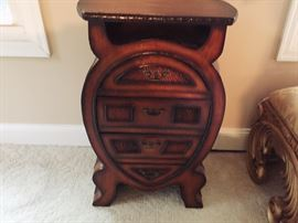 4-Draw whimsical side table
