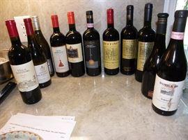 Amarone wines.