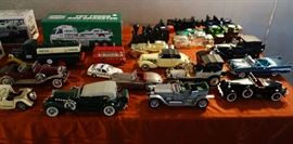 FRANKLIN MINT ,HESS AND CORGI DIE CAST CARS