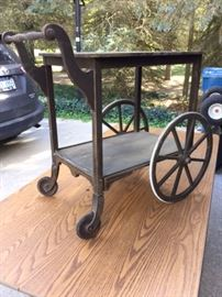 Early tea cart