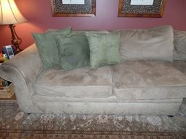 4 piece sectional sofa; bought at Pottery Barn