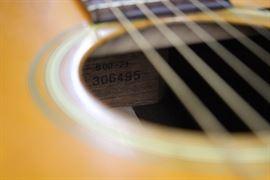 Martin Acoustic Guitar 1972 Model S00-21 Serial #306495