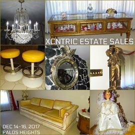 Glam Palos Heights estate sale December 14-16, 2017