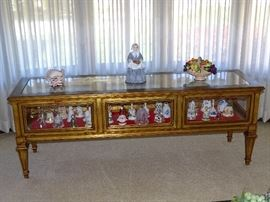 Display cabinet and bell collection