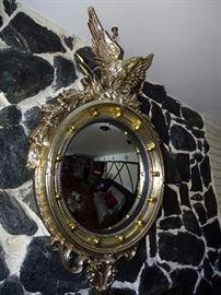 Convex eagle mirror