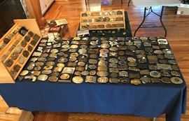 Lots of unique belt Buckles