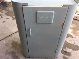 Vintage Westinghouse Metal Cabinet (used for roaster)