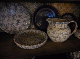 Antique Splatterware, Different Patterns