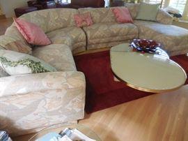 "Custom Made Sectional Sofa from Robert Allen ""The Mart"""