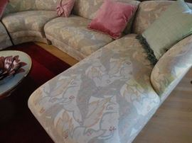 Nuetral Pattern Chaise Lounge shown
