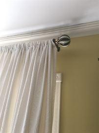 Mackenzie Childs curtain rods