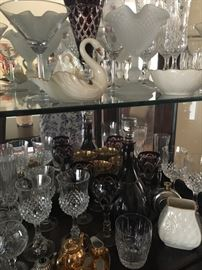 Collectibles, china & glassware