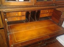 Drop Down Butler's Desk w/Leather Insert
