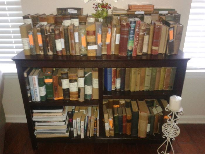 Old, OLD Books, some are dated to 1850's