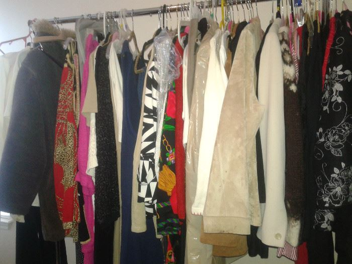 CLOTHES, SHOES, PURSES and some are Vintage..