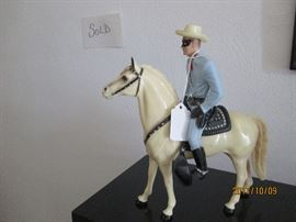 Lone Ranger Plastic toy