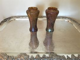 TIFFANY Favrille Swirl Vases