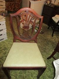 CHAIRS TO DINING ROOM TABLE
