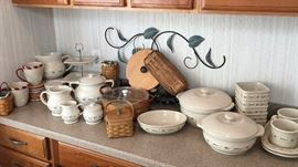 Longaberger dishes