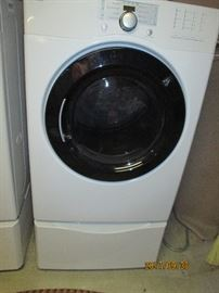 Maytag Front Loader Dryer on Pedalstal, MUST HAVE HELP TO MOVE