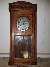 1800's wall clock