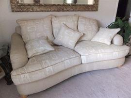 Havertys contemporary sofa
