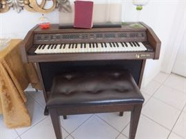 General Music organ and bench
