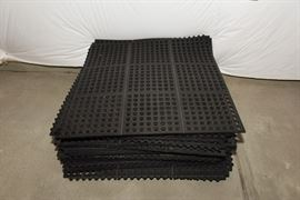 Interlocking Rubber Workout Flooring
