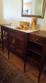 Buffet and Decors