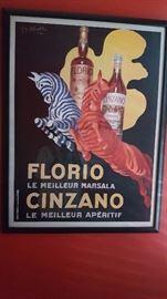 Framed Florio E. Cinzano