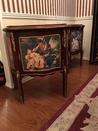 End table with marble top (2)