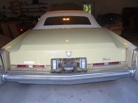 1975 Cadillac Eldarodo Convertible