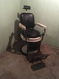 Barber chair - Theo A. Kochs company Chicago
