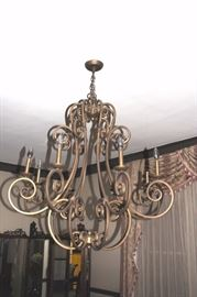 Fun, Wrought Iron Chandelier