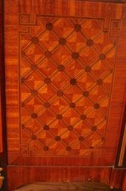 Antique French Marquetry Armoire