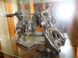Several Western Theme Figurines