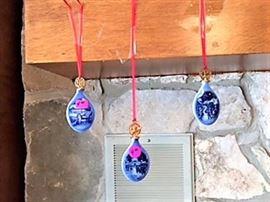 Royal Copenhaven Christmas ornaments