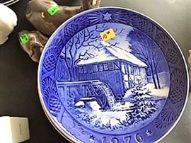 Royal Copenhaven Bing Grondahl plates