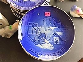 Royal Copenhaven collectors plates