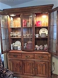 China cabinet dishes