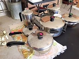 Revere Ware cookware some never used