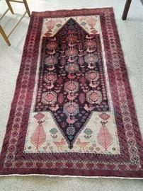 Iranian Persian Handknotted Carpet - beautiful colors