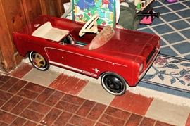 Mustang Junior Pedal Car
