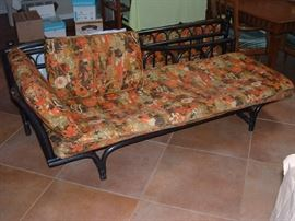 vintage oriental style patio sofa
