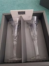 Waterford crystal millennial 2000 set. 4 more sets