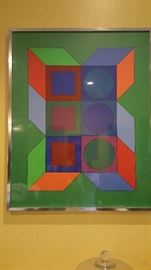 Art Victor Vasarely Signed