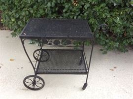 Woodard Patio cart