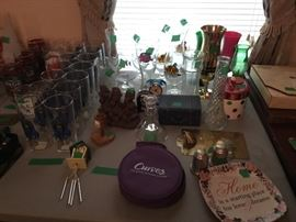 Glasses, bud vases and more