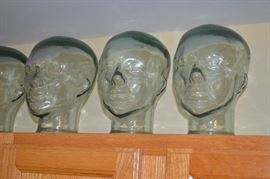 Pier 1 Glass Heads