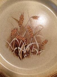 Mikasa Whole Wheat pattern China service for 8